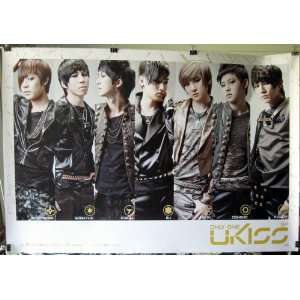 collage POSTER 34 x 23.5 UKiss Korean Boy Band U Kiss