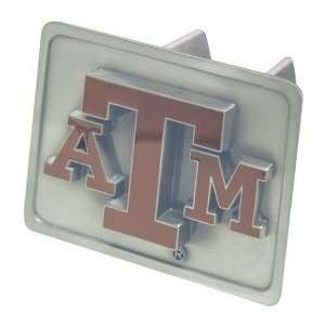 TEXAS A&M AGGIES TRAILER OFFICIAL HITCH COVER: Sports