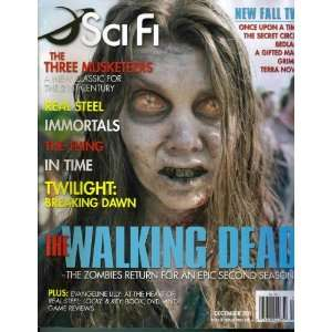 : SCI FI Magazine (12/11) The WALKING DEAD: The Zombies Return: Books
