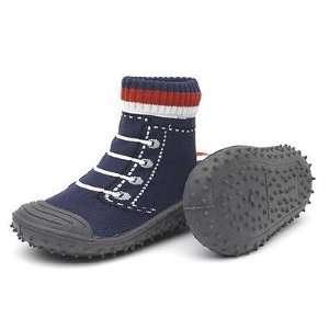 SKIDDERS Indoor/Outdoor Shoes Infant/Toddler Boy BLACK SNEAKER (6 (18