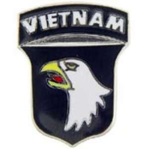 U.S. Army 101st Airborne Division Vietnam Pin 1 Arts