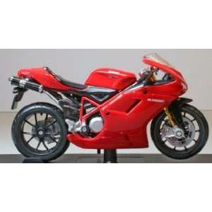 Ducati 1098S in Red (1:18 scale) Diecast Model Motorbike