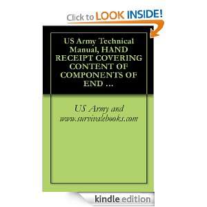 10 HR, 1995 US Army and www.survivalebooks  Kindle