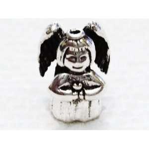 Authentic 925 sterling silver Jackolantern charm for European charm