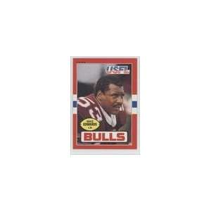 1985 Topps USFL #51   Mike Edwards LB: Sports Collectibles