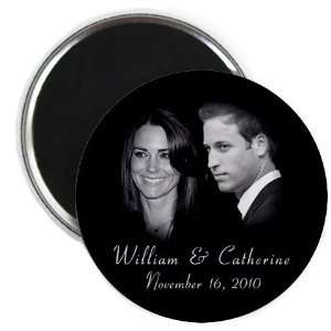 Prince William Kate Middleton Royal Engagement 2.25 inch