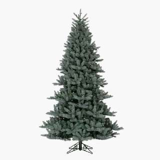 Santas Own IS75BLC 7.5 Foot Indigo Spruce Pre Lit Artificial Christmas
