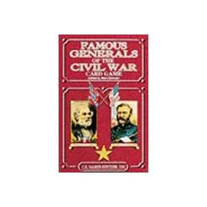 Famous Generals of the Civil War Playing Cards Toys & Games