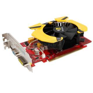 NEW 1G GeForce GT220 DDR3 128 Bit 256MB PCI Express Graphics Card DVI