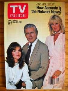 TV Guide John Forsythe Linda Evans Pamela Sue Martin