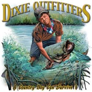 Dixie Rebel Fishing Noodling  A COUNTRY BOY CAN SURVIVE