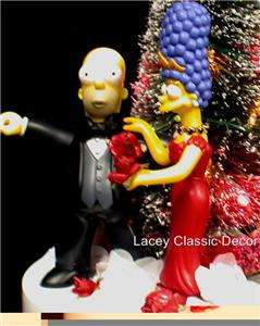 mas Simpson Marge Homer SIMPSONS Wedding Cake Topper