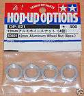 tamiya 53821 12mm aluminum wheel nut 4 pcs ndf 01