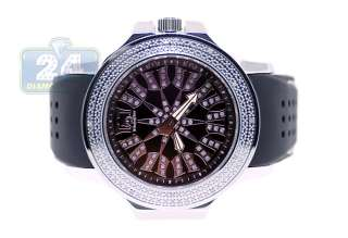 Techno Master Jojo Diamond Pave Ornament Mens Watch