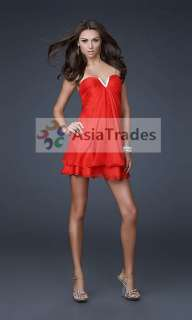 Stylish Women 3 color Cocktail Party Ball Mini Dress