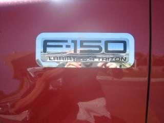 04 06 FORD F150 LOGO TRIM FENDER EMBLEM DECAL 2 PCS. 1 SET
