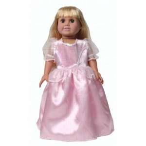 Pink Storybook Princess Girl Doll Dress18 American Toy