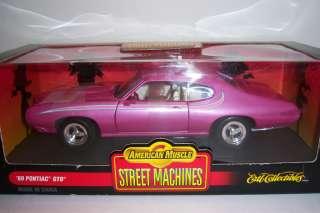 1969 Pontiac GTO. Die Cast Car 118 scale. Ertl American Muscle