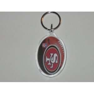 SAN FRANCISCO 49ERS Team Colors & Logo (4 Inch) Acrylic