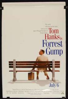 FORREST GUMP 1994 Tom Hanks ORIGINAL MOVIE POSTER