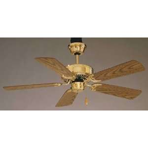 Aire F561 PB Cumberland Ceiling Fan, Polished Brass: Home Improvement