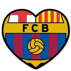 FC Barcelona Barca vynil car sticker window decal 4 x 4