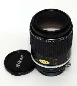 Nikon Micro   Nikkor 105mm F2.8 AIS MACRO LENS Manual Focus Lens