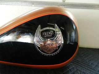 08 Harley FLSTF FLSTC Softail Gas Fuel Tank 105th Anniversary