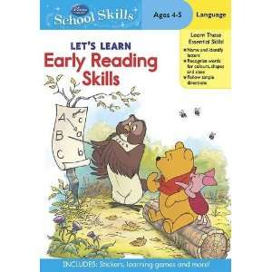 Early Reading Skills Winnie the Pooh Age (9781445436685