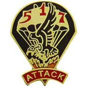 U.S. Army 517th Airborne Infantry Regiment Pin 1 Arts