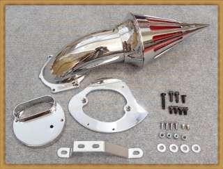 Description  High Quality Chrome Billet Aluminum Cone Spike Air