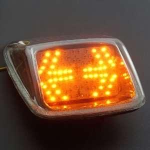 Easy Mounting 12V Integrated 117 LED Brake Stop Light Turn Signals For