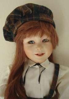 Yolanda Bello 1982 Original 15Young Girl Megan Bisque/Cloth LE#58