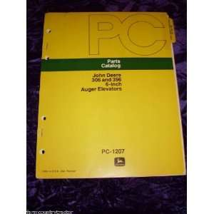 John Deere 306/396 Auger Elevator OEM Parts Manual John Deere Books