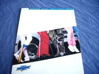 1986 CHEVROLET CHEVY TRUCKS Preview Guide Brochure