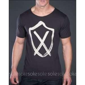 Zanerobe Clothing   Mens ZR Scoop S/S Tee Shirt in Black