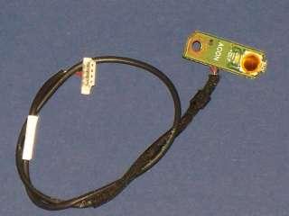 Dell Studio 1555 Power Button Board with Cable D/PN DD0FM8PB001 Grade