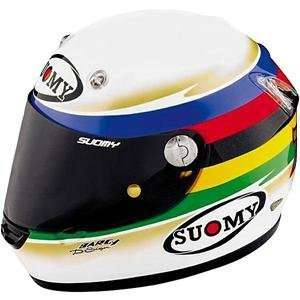 Suomy Vandal Bayliss Limited Edition Helmet   Large/White