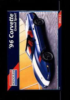 MONOGRAM 96 CORVETTE GRAND SPORT 124 MODEL KIT MINT FACTORY SEALED