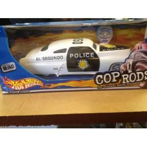 Hot Wheels Cops & Rods El Segundo Police Toys & Games