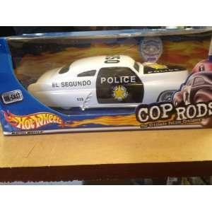 Hot Wheels Cops & Rods El Segundo Police Toys & Games