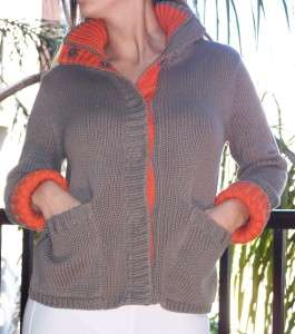 Victorias Secret Moda Cable Knit Cardigan Sweater S