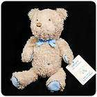 New/NWT~CARTER​S~Little Blue Teddy Bear~baby Boys Plush Toy~rattle