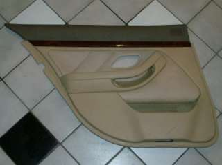 2002 BMW 530i Rear Door Panel, Drivers, Tan, Nice 525