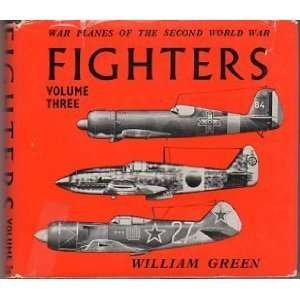 WAR PLANES OF THE SECOND WORLD WAR FIGHTERS VOLUME THREE. Books