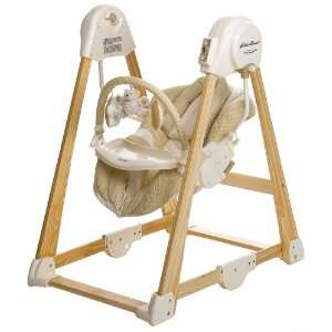 Eddie Bauer Classic Wood Swing Baby