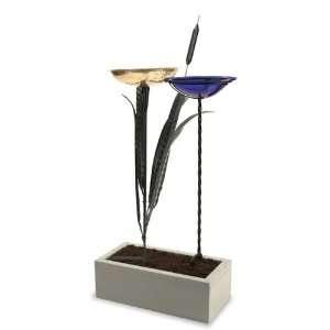New Birdbath Stake Display Box Wood High Quality Modern