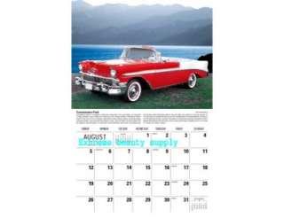 Cadillac Camaro Corvette GTO Classics cars 2012 wall calendar