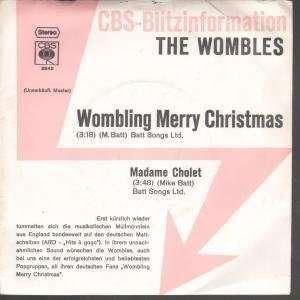 WOMBLING MERRY CHRISTMAS 7 INCH (7 VINYL 45) GERMAN CBS