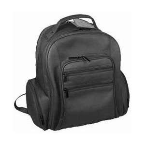 David King Leather Oversized Laptop Backpack Cafe